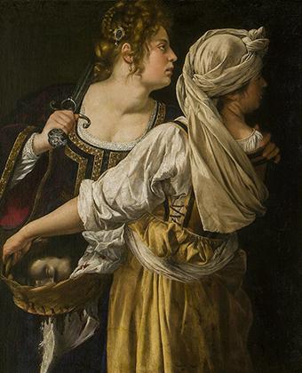 «Юдифь и ее служанка», 1618-1619