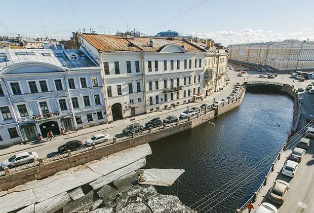 Санкт-Петербург, набережная реки Мойки, 31
