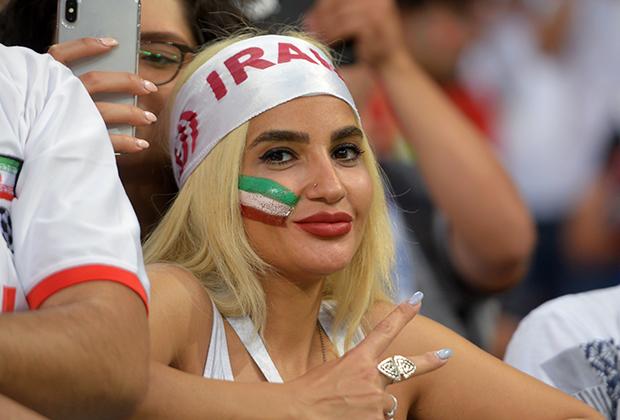 Иранки не стеснялись своего внешнего вида и не боялись попасть в объективы фотографов.