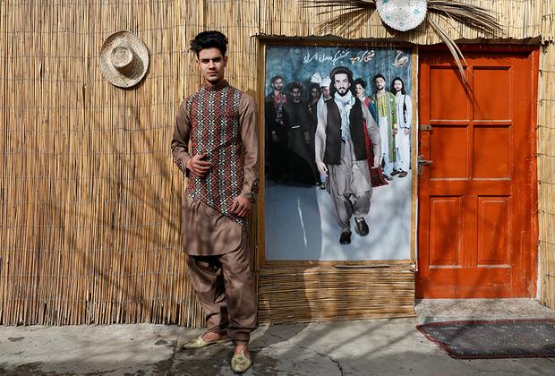 Модель Султан Касим Сайиди, 18 лет
