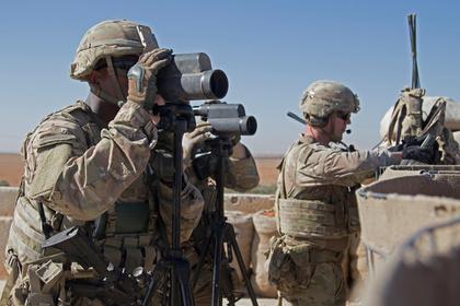 Россия призвала устранить военное присутствие США в Сирии