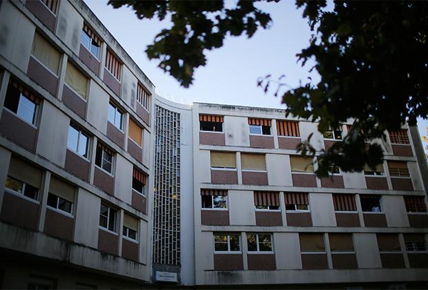 Центр для мигрантов во французском Туре