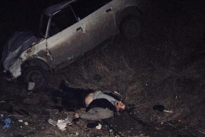 На Украине грабители возвращались с добычей и разбились в ДТП
