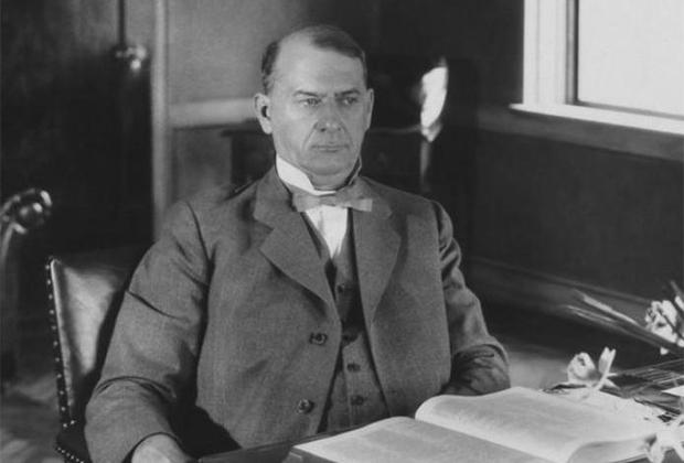 Создатель организации свидетелей Иеговы Джозеф Рутерфорд.