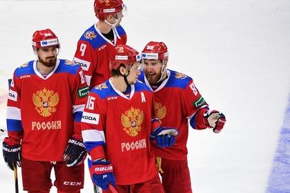 Сборная России по хоккею проиграла Швеции
