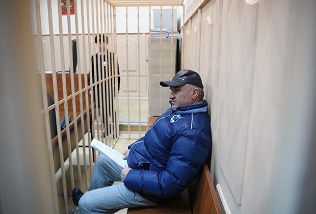 Рауль Арашуков на заседании Басманного суда Москвы