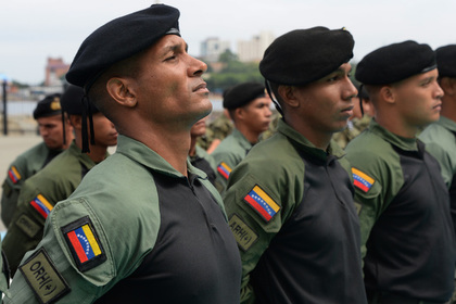 В Венесуэле заявили о желании почти всех военных бросить Мадуро