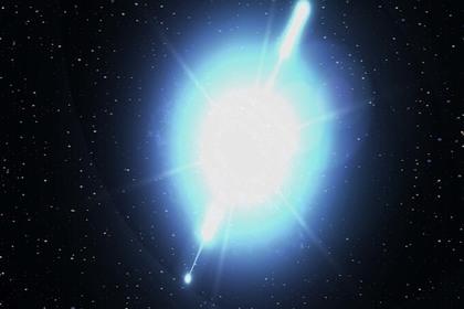 Российский спутник зафиксировал необычные физические явления в космосе