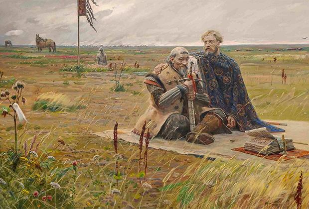 Картина Павла Рыженко «Сартак»