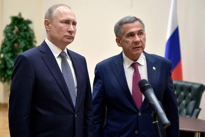 «Взял иушел куда-то»: Путин потерял напрезидиуме государственного совета  руководителя  Татарстана