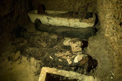 Загадочный скелет нашли в египетской пирамиде
