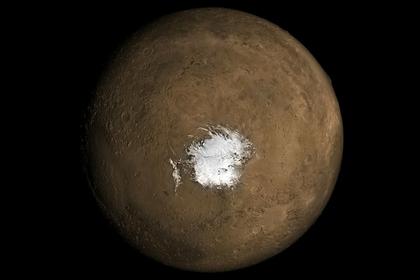 Объяснено таинственное появление воды на Марсе