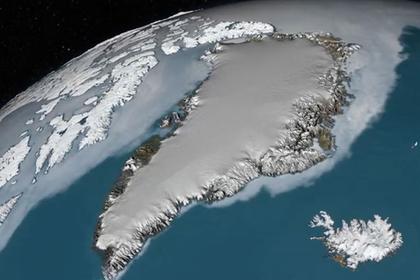 Под Гренландией нашли новый гигантский кратер