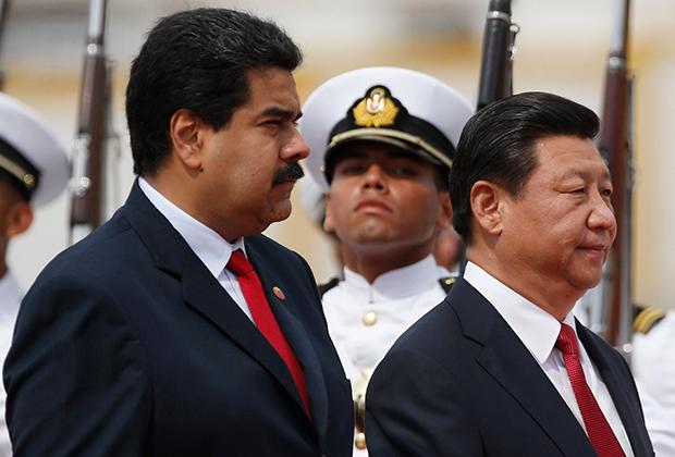 Николас Мадуро и председатель КНР Си Цзиньпин