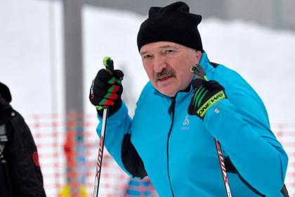 Путин поставил Лукашенко на лыжи