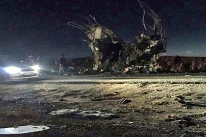 При взрыве вИране погибли 20 военнослужащих КСИР