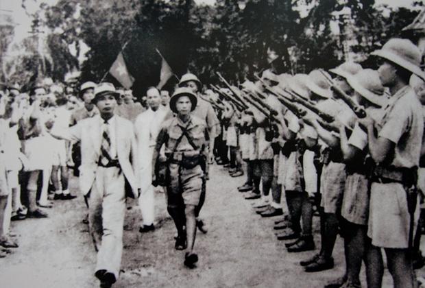 Вьетнам в дни августовской революции 1945 года, свергшей прояпонский режим
