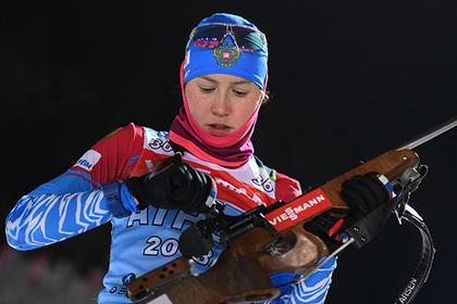 Российская биатлонистка предложила «диванным» любителям выступить вместо нее