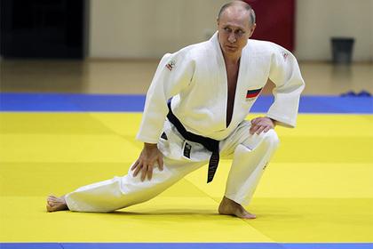 Песков рассказал об ушибе Путина на тренировке по дзюдо