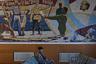 Самый крупный порт на Аральском море — город Аральск. В зале железнодорожного вокзала в Аральске сохранилось мозаичное панно. На нем изображено, как в ответ на письмо Ленина рыбаки отправили с этой станции 14 вагонов рыбы голодающим Поволжья. Пенсионер из Аральска Мурабай Алиев вспоминает: «В советское время Арал кормил рыбой весь Советский Союз. Мы ели рыбу на завтрак, обед, ужин и бесплатно раздавали соседям».