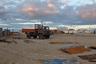 Рыбацкое село Тастубек в 90 километрах от Аральска. Когда море ушло, аул вымер— рыбаки разъехались в города Казахстана и работали там строителями. Когда Малый Арал вернулся — рыбаков потянуло домой. Аул вырос.