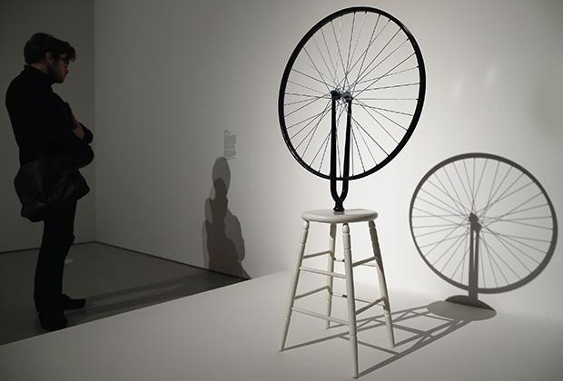 «Велосипедное колесо» Дюшана