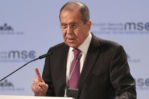 Сергей Лавров, министр иностранных дел России