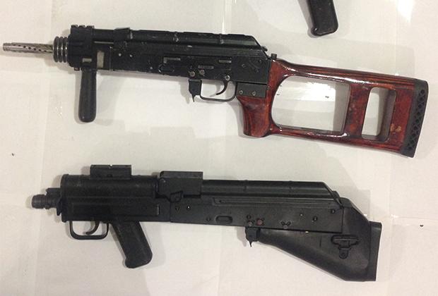 Оружие, изъятое у членов «секты Гагиева» весной 2014 года