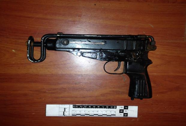 Пистолет-пулемет «Скорпион» образца 1961 года, калибра 7,65х17мм