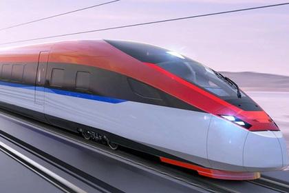 В Китае показали высокоскоростной поезд для России