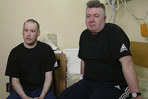 Лионел Буруяну и Михаил Крихан