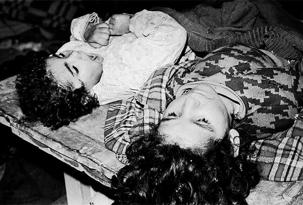 Дети, погибшие в окрестностях Ходжалы в ночь на 26 февраля 1992 года