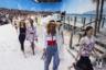 Показ сезона весна-лето 2019 стал поистине грандиозным: традиционное место своих дефиле, парижский Гран-Пале, Лагерфельд превратил в тропический пляж с настоящим песком и даже имитацией настоящего прибоя. Это был последний показ, после которого Карл Лагерфельд лично вышел на поклон.