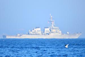 Эсминец США в Чанаккале