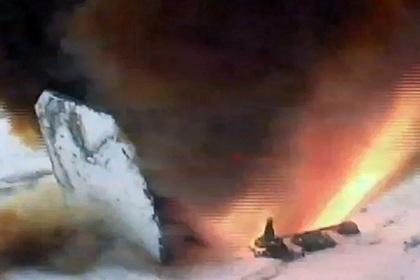 Запуск ракеты комплекса «Авангард»