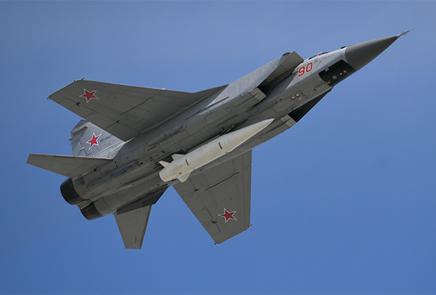 МиГ-31 с аэробаллистической ракетой