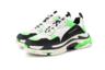 Сочетание черного, белого, зеленого и крайне актуального силуэта — кроссовки от Демны Гвасалии из новой коллекции сезона весна-лето 2019 станут отличным подарком.