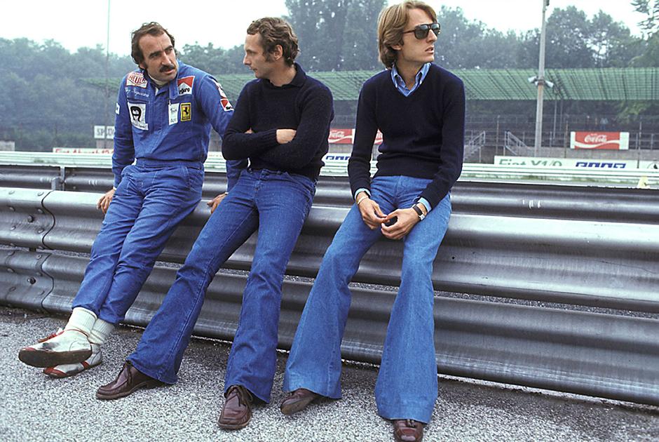 Осенью 1973-го Лауда подписал контракт с Ferrari, которой руководил тогда еще молодой и амбициозный Лука Монтедземоло. Несмотря на приятельские отношения с напарником Клеем Регаццони, Лауда старался обойти швейцарца в каждой гонке.