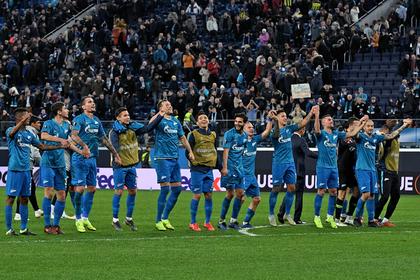 «Зенит» и «Краснодар» узнали соперников по 1/8 финала Лиги Европы