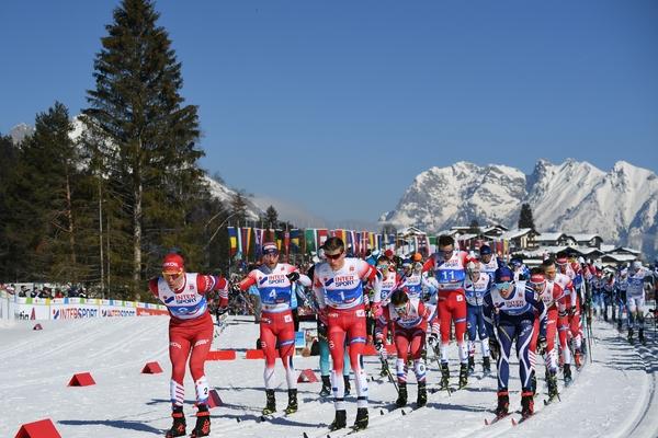 Российский лыжник уступил долю секунды в борьбе за золото чемпионата мира