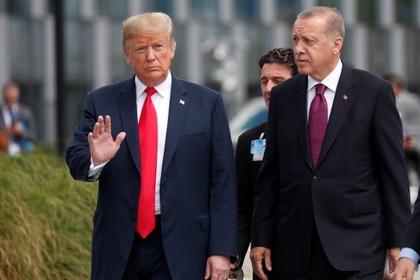Эрдоган захотел встретиться с Трампом