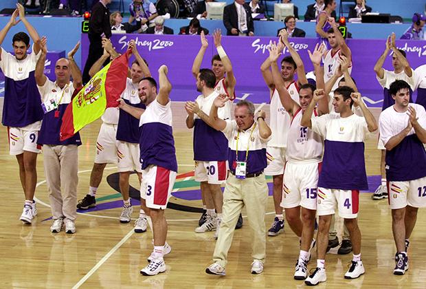 Паралимпийская сборная Испании по баскетболу