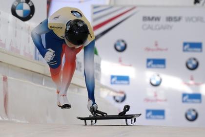 Россиянин Александр Третьяков выиграл в общем зачете Кубка мира по скелетону