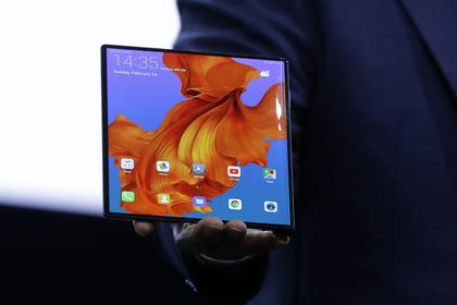 Китайцы представили самый дорогой гнущийся смартфон