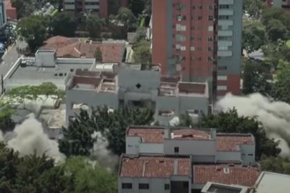 Дом Пабло Эскобара взорвали назло туристам