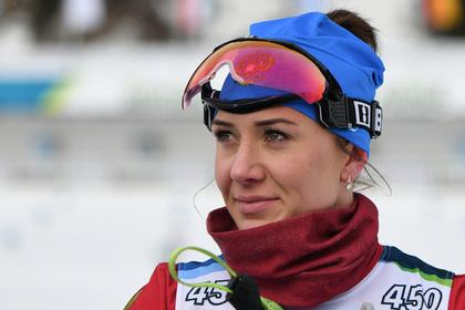 Российской биатлонистке пригрозили наказанием за игнорирование допинг-тестов