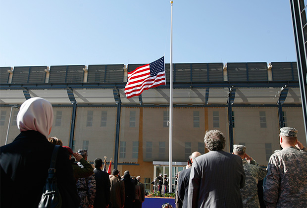 Открытие американского посольства в Багдаде