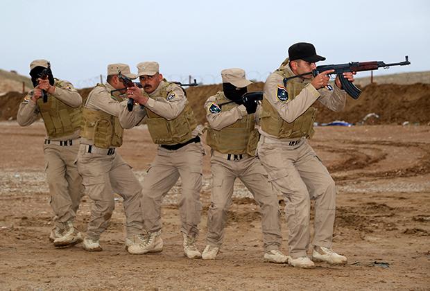 Тренировка иракских солдат и полицейских