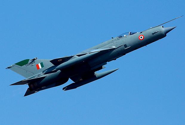 Индийский истребитель МиГ-21
