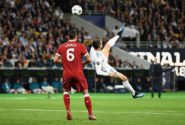 Гарет Бэйл в финале Лиги чемпионов 2018 года